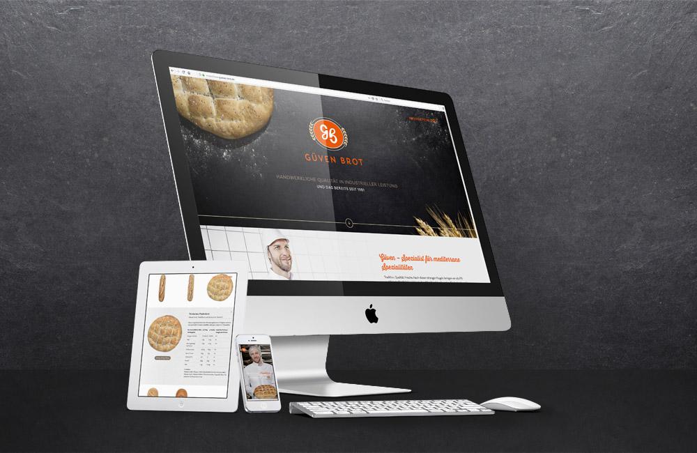 Güven Brot Webseite