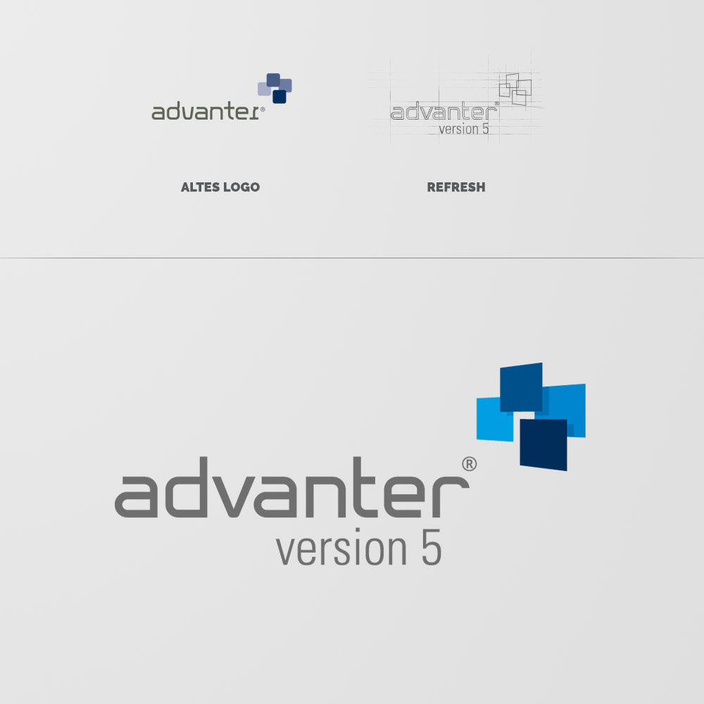 Logorefresh advanter Version 5