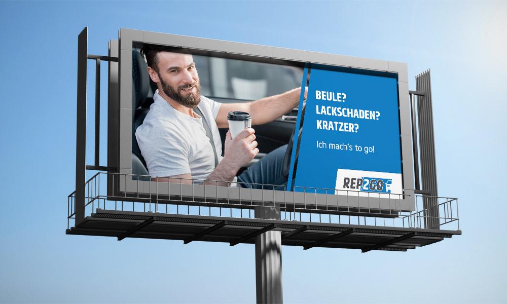 Rep2Go Billboard
